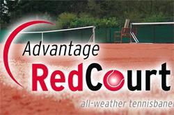 Adv. RedCourt - Outdoor Tennisbelag mit Sandplatz - Eigenschaften RedCourt